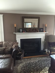Fireplace Surround Cover Photo
