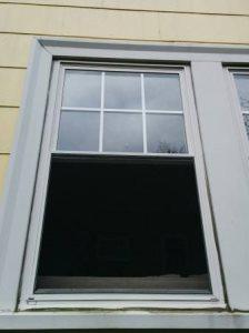 Remove Vinyl Window, Move Sofa, Re-Install Vinyl Window Cover Photo