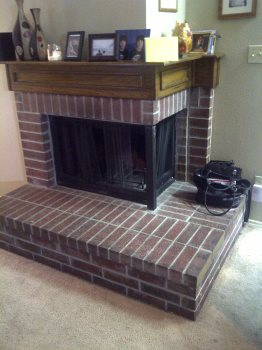 Non Vented gas Fireplace
