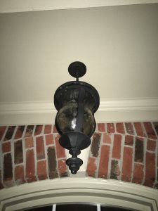 Replace Porch Light Cover Photo