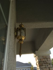 Install Exterior Lighting Cover Photo