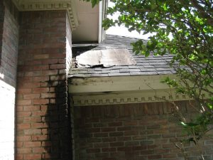 Repair Of Hole In Roof  Cover Photo