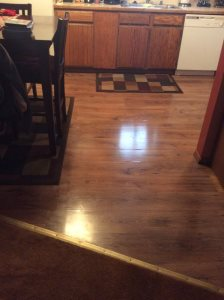 Kitchen Floor Cover Photo