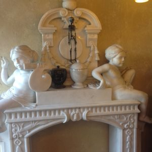Marble Fireplace Cover Photo
