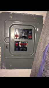 Replace Breaker Panel Cover Photo