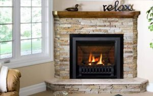 Corner Fireplace Cover Photo