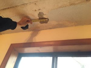 Ceiling Stucco Repair Needed  Cover Photo