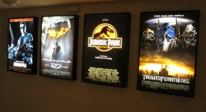 Movie Poster Light Frames Cover Photo
