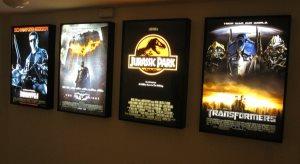 Movie Poster Light Frames Cover Photo