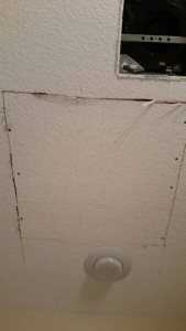 Sheetrock Repair Cover Photo