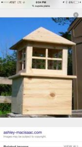 Need A Cupola Built For Roof Cover Photo
