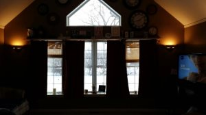 Family Room Fireplace Cover Photo
