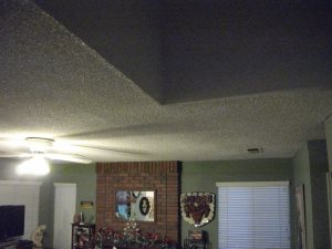 Replace Ceiling Texture Cover Photo