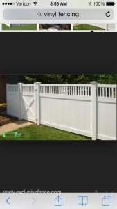 Install Vinyl Fencing. Cover Photo
