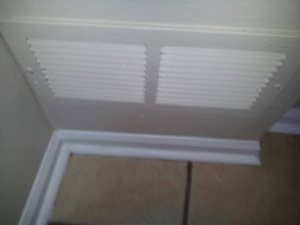 Install Furnace Filter Grill And Filter Cover Photo