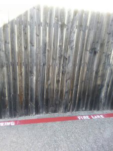 Wooden Fence Gate