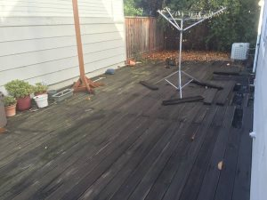 Hiring For Rebuilding Of Wooden Deck Cover Photo