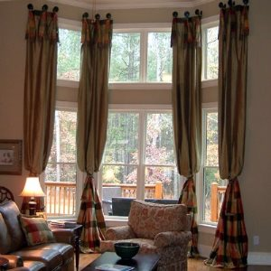Bay Window Treatments