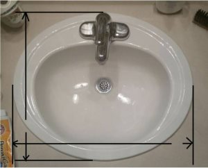Handyman To Install Newer Sink & Faucet & Put Up Light Cover Photo
