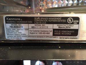 Microwave Repair Cover Photo