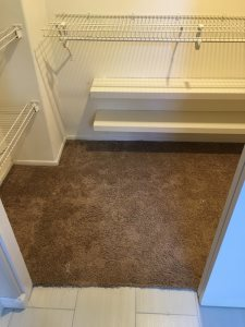 Walk In Closet Floor Cover Photo