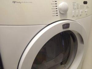 Broken Dryer Cover Photo