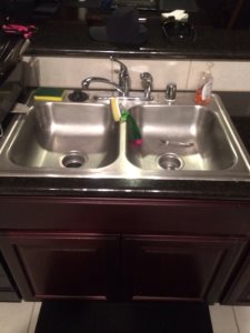 Replace Kitchen Sink And Faucet Cover Photo