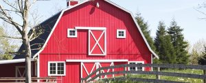 Red Barn Built Cover Photo