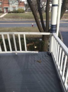 Carpenter Needed Thursday  Fix a Wood Railing Cover Photo