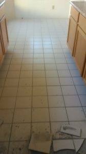 Tile Floor Cover Photo