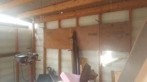 Damaged Shed Cover Photo