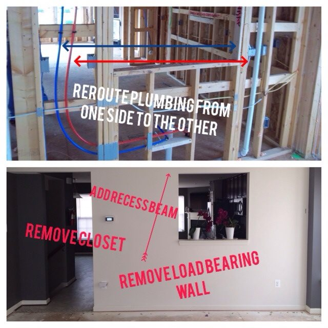 Cost Of Remove Load Bearing Wall In Randallstown Md