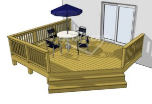 Wooden Deck Cover Photo