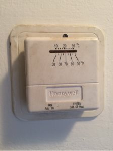 Thermostat Upgrade.  Cover Photo