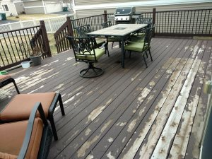 Replacing Deck That Is Peeling Cover Photo