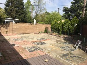 Remove Concrete Slabs And Install Sod Cover Photo