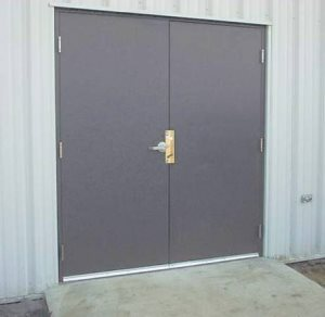 Provide And Install Two Sets Of Metal Doors  Cover Photo
