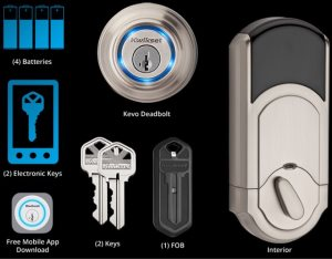Deadbolt Lock Install. Kevo Lock Cover Photo