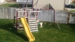 Peck Swing Set Cover Photo
