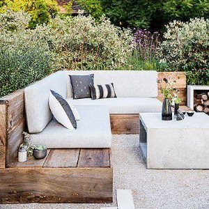 Custom Outdoor Wood Bench Cover Photo