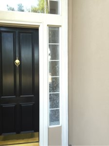 Replace Front Door Tempered Glass Cover Photo