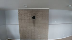 Brick Wall Hole Cover Photo