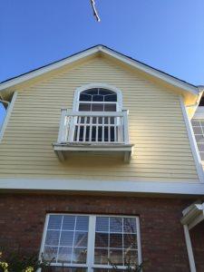 Balcony And Siding Cover Photo