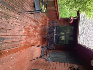 Refinishing Deck