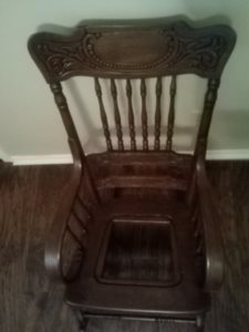 Repair Rocking Chair Cover Photo