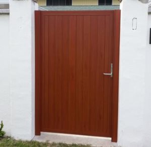 Wooden Gate Cover Photo
