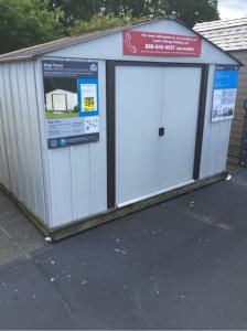 Install Metal Shed Cover Photo