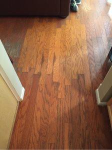 Restaining Hardwood Floors