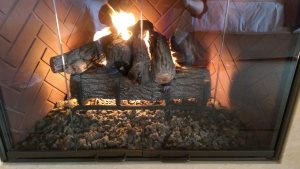 Gas Fireplace Cover Photo