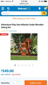 Swing Set  Cover Photo